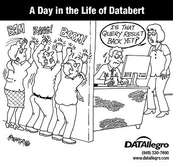 DATAllegro Cartoon demanding